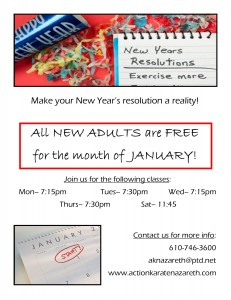 adults free in january